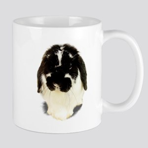 Broken Black Holland Lop Mug