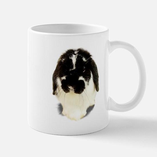 Broken Black Holland Lop Mug