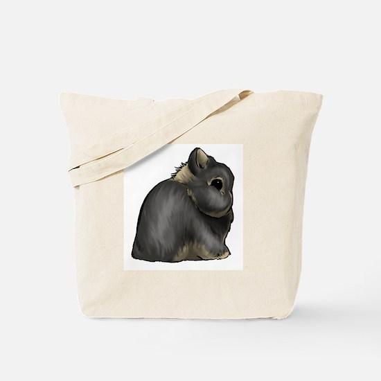 Black Otter Netherland Dwarf Tote Bag