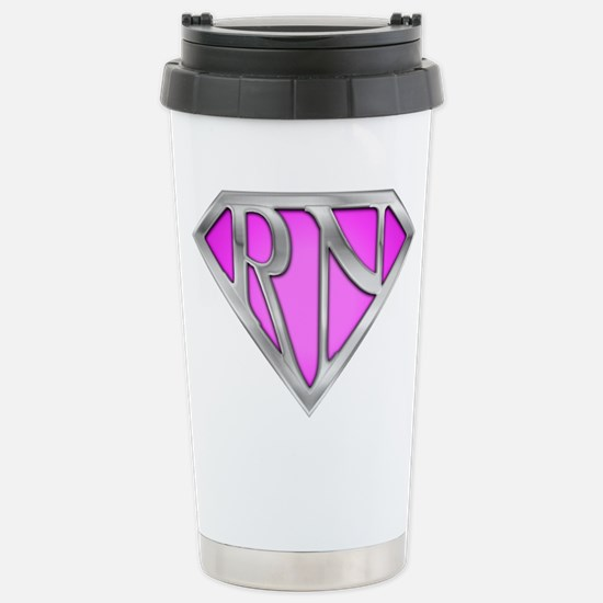 Super RN - Pink Stainless Steel Travel Mug