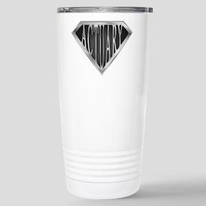 SuperActuary(metal) Stainless Steel Travel Mug