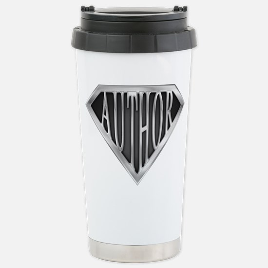 SuperAuthor(metal) Stainless Steel Travel Mug