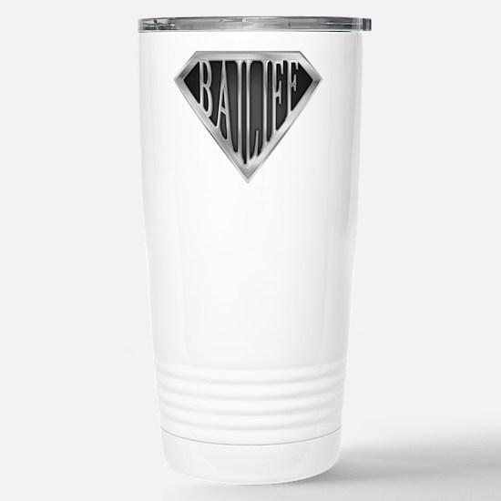 SuperBailiff(metal) Stainless Steel Travel Mug