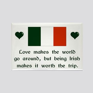 Irish Love Magnet (3x2)
