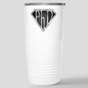 Super PhD - metal Stainless Steel Travel Mug
