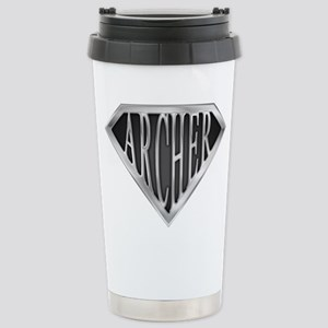 SuperArcher(metal) Stainless Steel Travel Mug