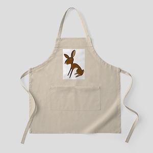 Belgian Hare Cartoon BBQ Apron
