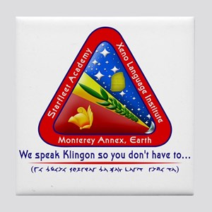 Xeno Language Institute Tile Coaster