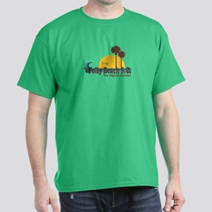 Folly Beach SC Dark T-Shirt