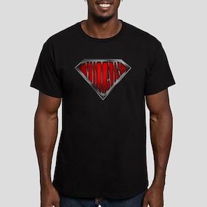 Super Villain Men's Fitted T-Shirt (dark)