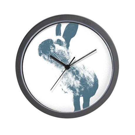 Blue HimmyHimmyHimmy Wall Clock
