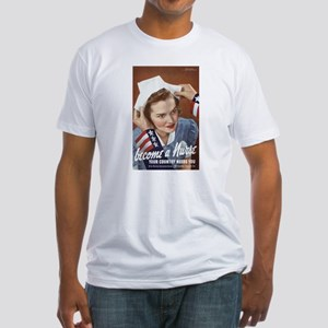 Become A Nurse Fitted T-Shirt