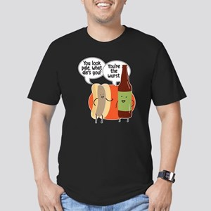 Ale Bratwurst Men's Fitted T-Shirt (dark)