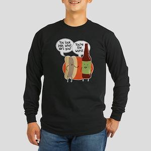 Ale Bratwurst Long Sleeve Dark T-Shirt