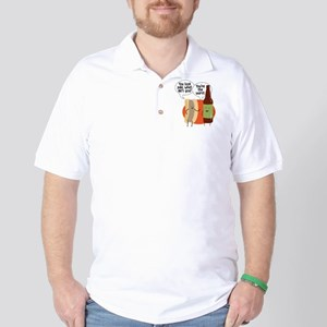 Ale Bratwurst Golf Shirt
