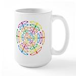 Peace Symbols Large Mug