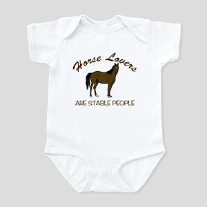 Horse Lovers... Infant Bodysuit