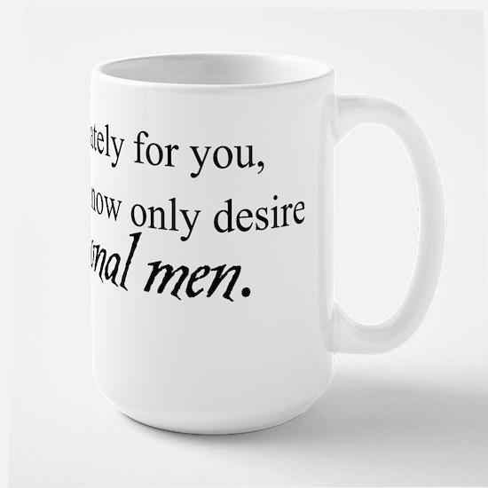 Fictional Men Large Mug