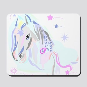 Colorful Horse2 Mousepad