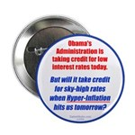 """High Interest Rates 2.25"""" Button (100 pack)"""