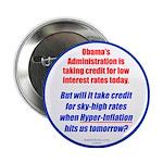 "High Interest Rates 2.25"" Button"