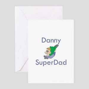 Danny- SuperDad Greeting Card