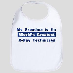 Grandma is Greatest X-Ray Tec Bib