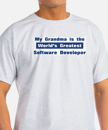 Grandma is Greatest Software T-Shirt