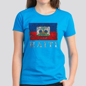 Vintage Haiti Women's Dark T-Shirt
