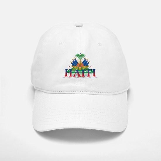 3D Haiti Baseball Baseball Cap