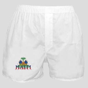 3D Haiti Boxer Shorts
