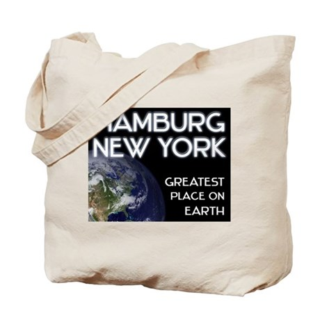 hamburg new york - greatest place on earth Tote Ba