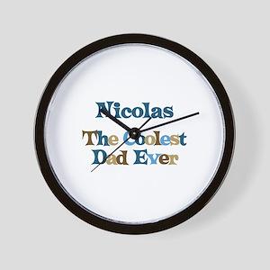 Nicolas - Coolest Dad Wall Clock