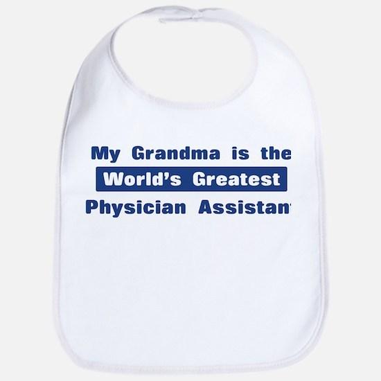 Grandma is Greatest Physician Bib