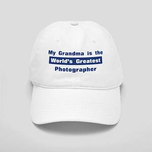 Grandma is Greatest Photograp Cap
