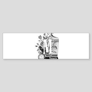 Menagerie Bumper Sticker