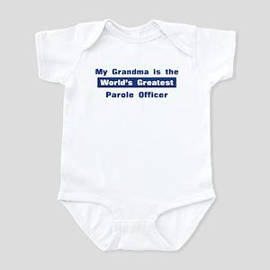 Grandma is Greatest Parole Of Infant Bodysuit