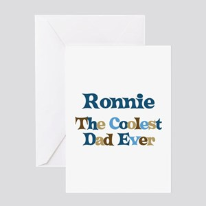 Ronnie - Coolest Dad Greeting Card