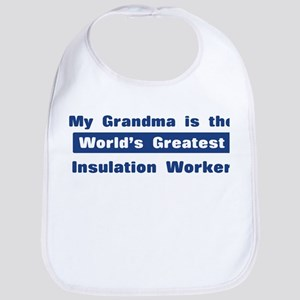 Grandma is Greatest Insulatio Bib