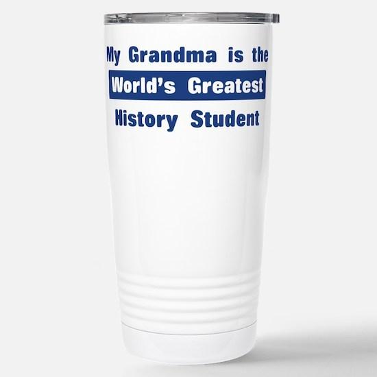 Grandma is Greatest History S Stainless Steel Trav