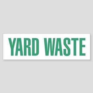 Yard Waste Sticker