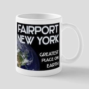 fairport new york - greatest place on earth Mug