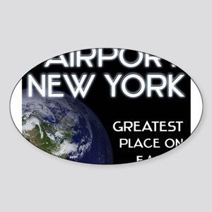 fairport new york - greatest place on earth Sticke
