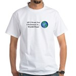 Christmas World Peas Men's Classic T-Shirts