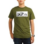 Texas Iron Motorcycles Organic Men's T-Shirt (dark