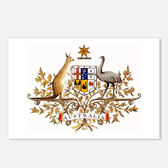 Australian Coat of Arms Postcards (Package of 8)
