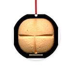 40 mg wafer x-mas Ornament (Round)