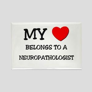 My Heart Belongs To A NEUROPATHOLOGIST Rectangle M