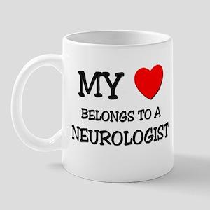 My Heart Belongs To A NEUROLOGIST Mug