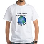 Christmas World Peas Men's Classic T-Shirts